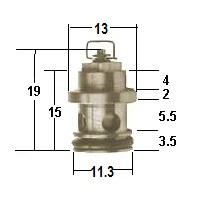 HSR Needle Valve assy786-27001-viton-tip