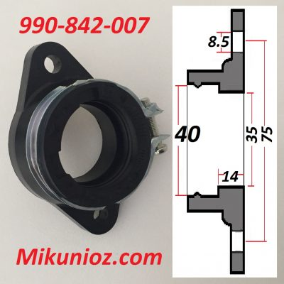 Mikuni Rubber Mounting Flange 990 842 007