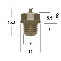 Mikuni needle valve VM-26-26-metal-tip
