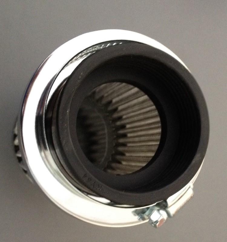 Mikuni Air Cleaner : Pod air cleaner mm for mikuni carbs with thru