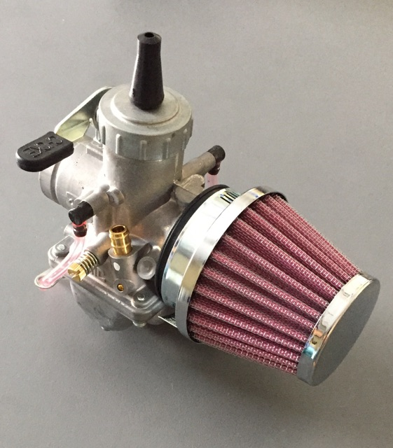 Mikuni Air Cleaner : Pod air cleaner mm suits mikuni spigot thu