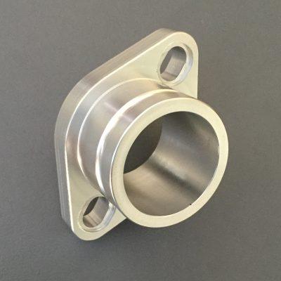 Alloy flange 40mm spigot Mikuni VM32