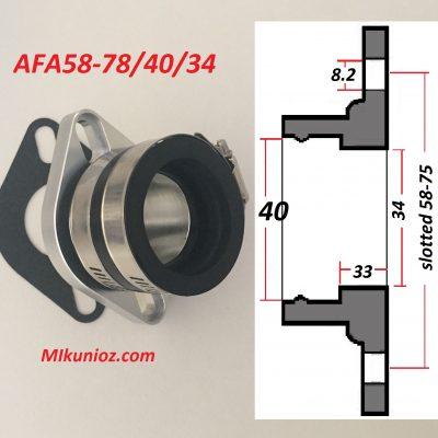 Mikuni Mounting Flange TM VM34