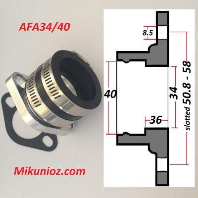 Mikuni Mounting Flange VM34