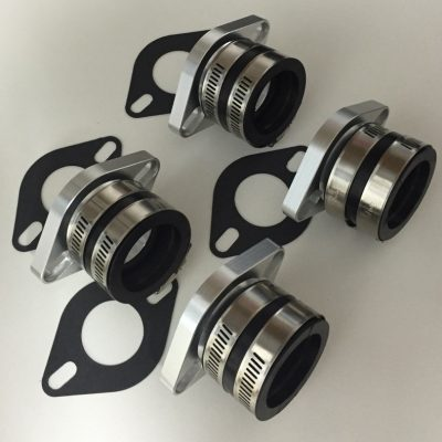 Mikuni Mounting flanges set of 4