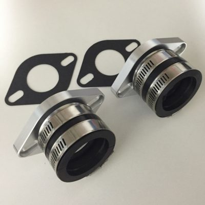 Mikuni mounting Flange & Sleeve  51 to 58mm stud centres