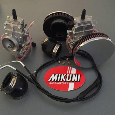 Mikuni TM32 Kit Triumph 45 Pan Cake