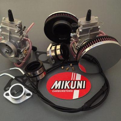 Mikuni TM32 Kit Triumph T140 Pan Cake