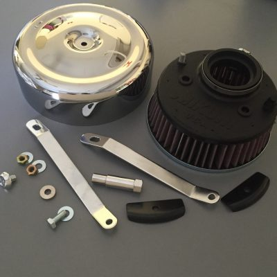 Harley Davidson Air filter kit Shovelhead Mikuni HSR42