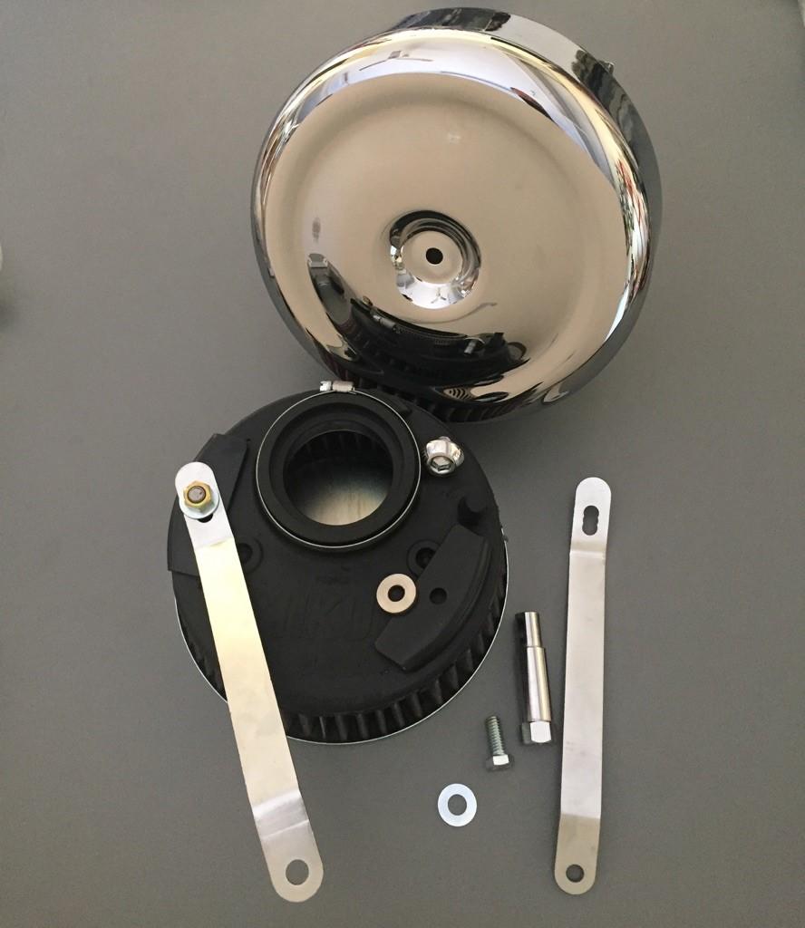 Mikuni Air Cleaner : Mikuni hsr air filter kit harley davidson shovelhead