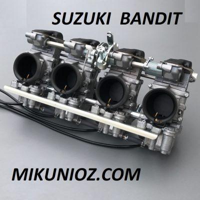 Mikuni RS Smoothbore Carbs Suzuki GSF Bandit GSXR Liquid cooled