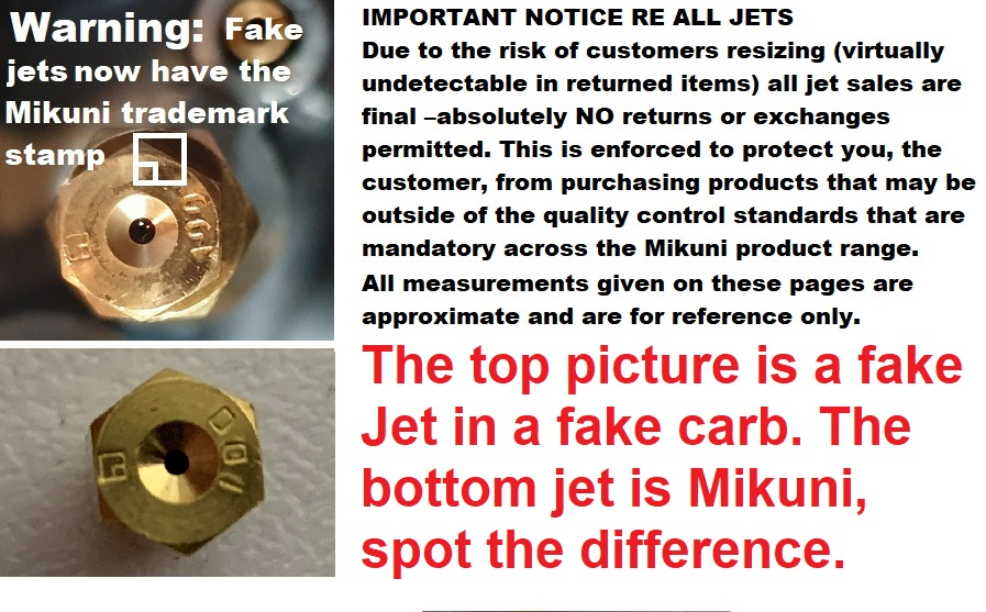 Details about  /Mikuni Type Pilot Jet BS30//96 Size 60 Bleed Type BS Constant Velocity Carbs NEW