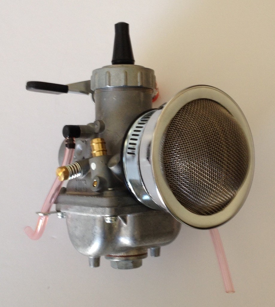 Volocity Stacks Chopper Air Cleaner : Velocity stack with gauze fits carburetor spigot mm