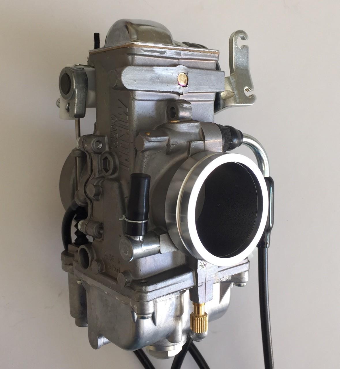 1  Suzuki DR650 Mikuni TM40-6 Flatslide Pumper Carb KIT