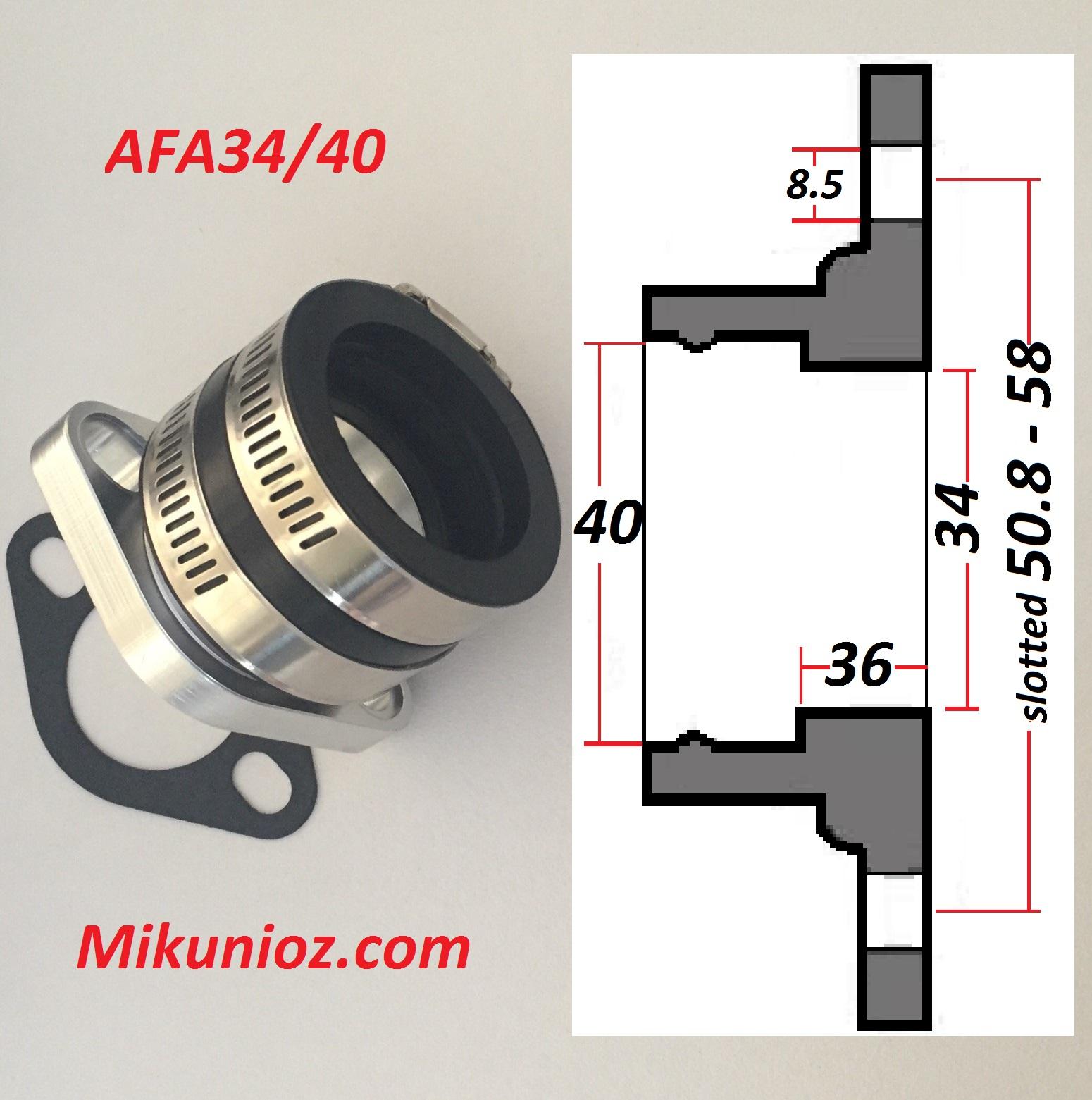 MIKUNI 002.054 Mounting Flange