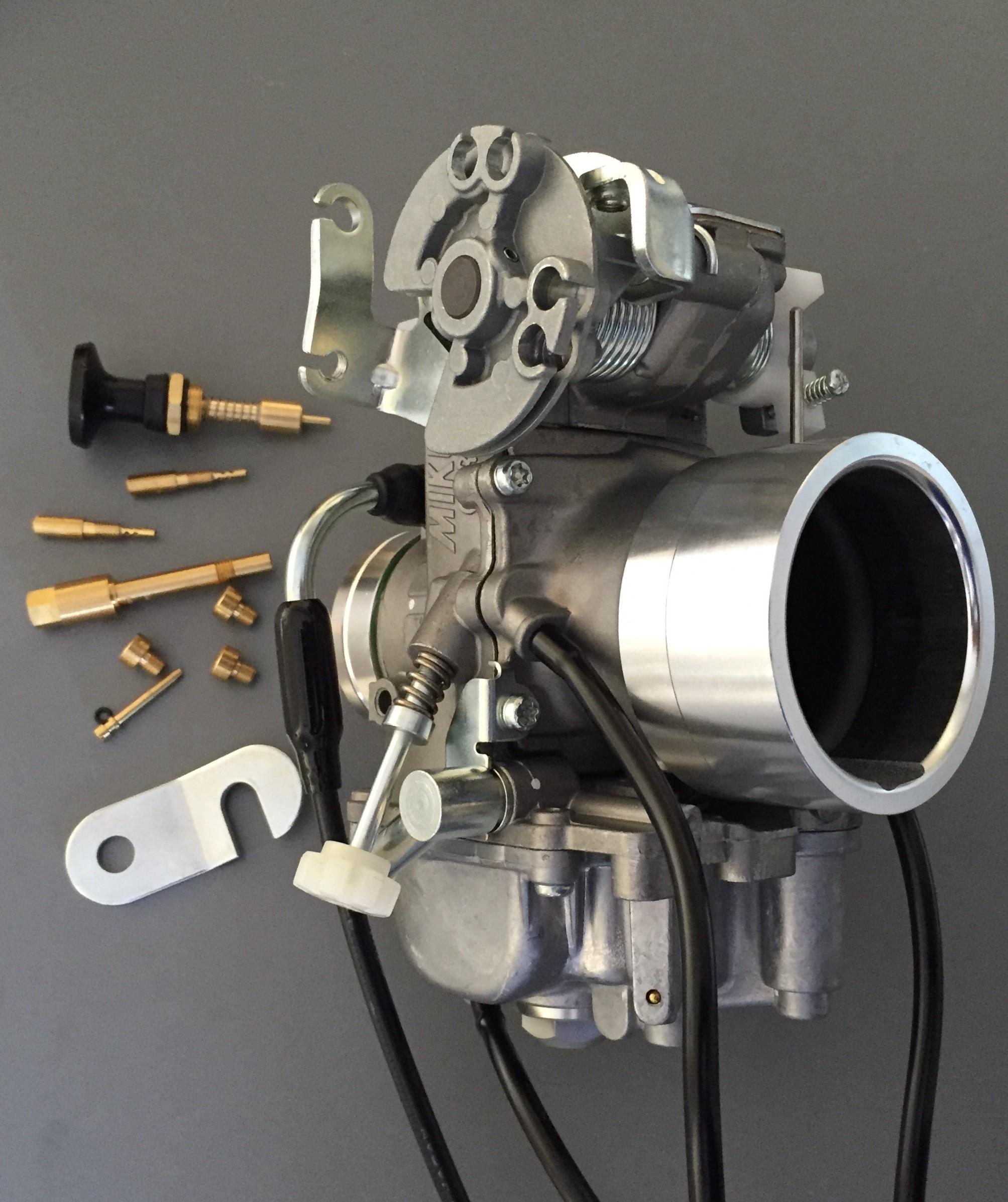 1  Honda XR600/650L Mikuni TM40-6 Flatslide Pumper Carb Basic KIT