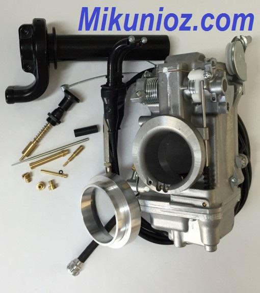 Kawasaki KLR 650 Mikuni TM42-6 Flatslide Pumper Carb Kit