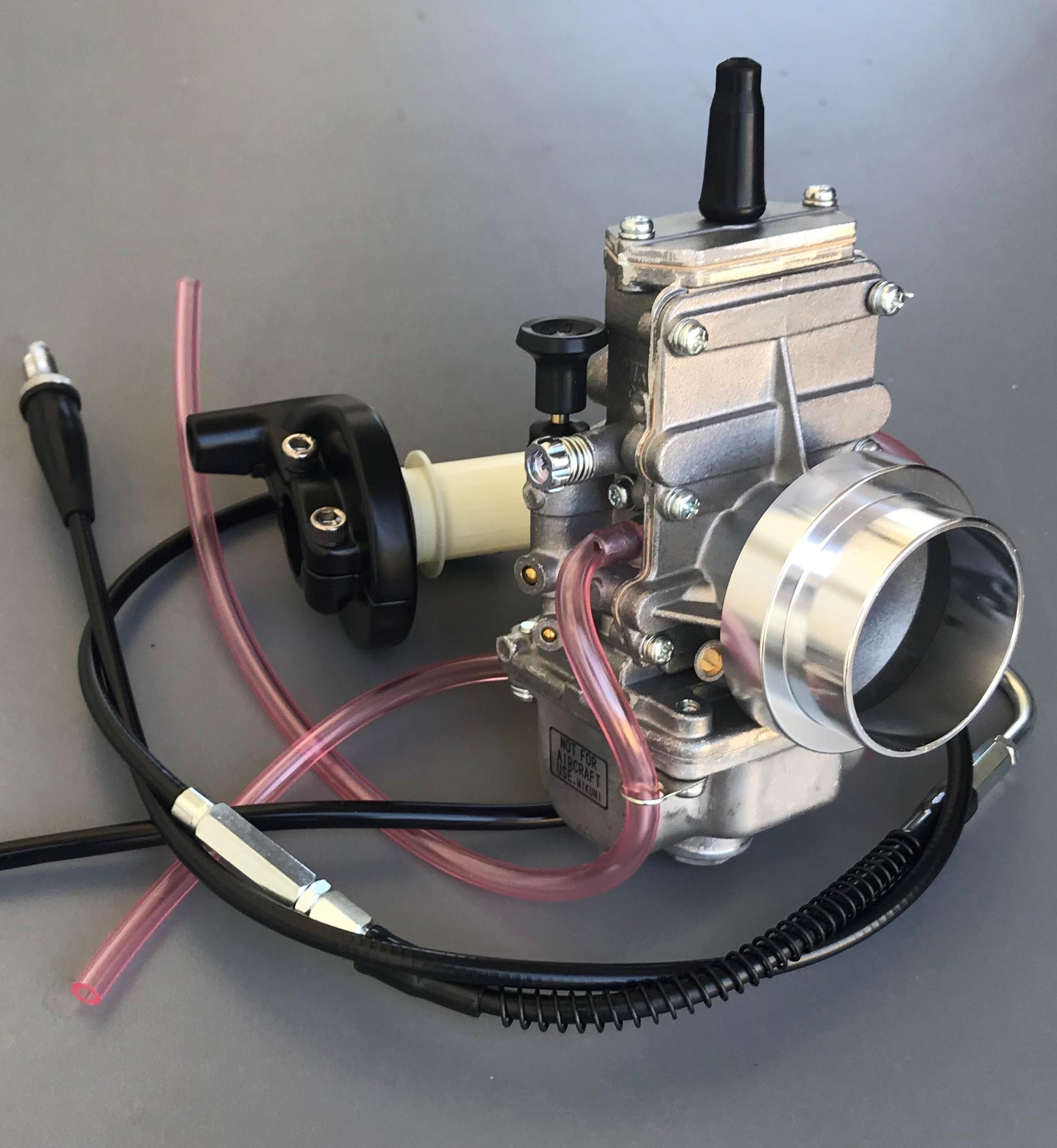 Honda XR250 Mikuni TM34 Flatslide Non-Pumper Carburetor