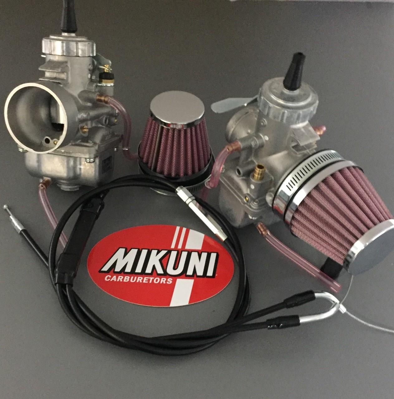 Triumph T140e Bonneville Dual Vm32 Carb Conversion Kit Mikunioz