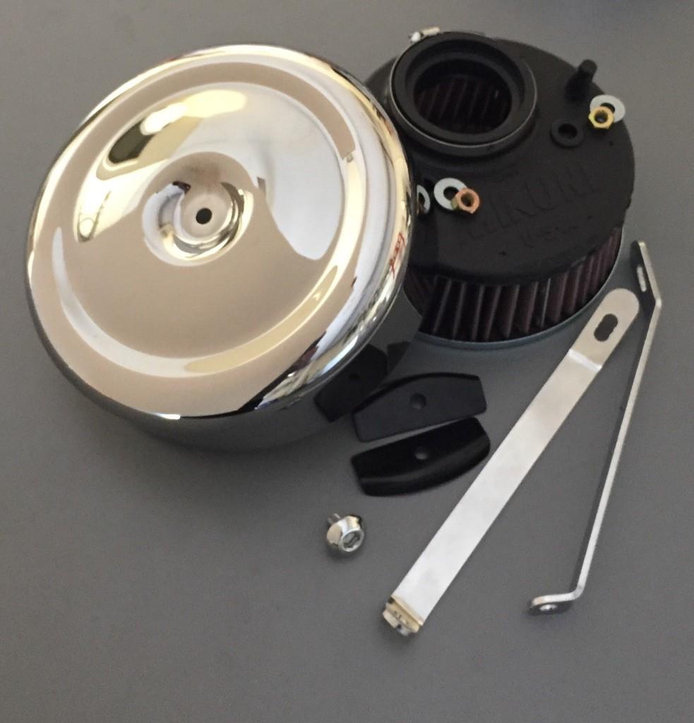 Mikuni Air Cleaner : Mikuni hsr air filter kit harley davidson cc xl
