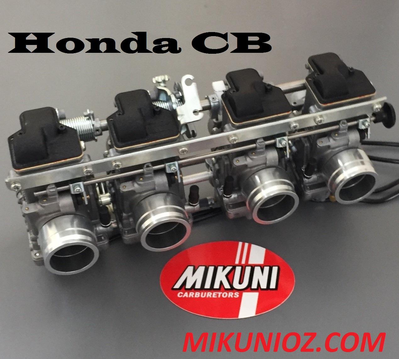 Mikuni RS 36mm Carb Kit- Honda DOHC CB1100, Honda CB900, Honda CB750