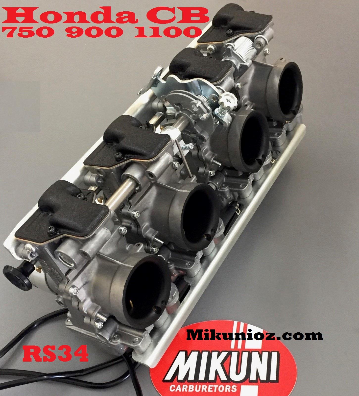 Mikuni Rs 34mm Carb Kit Honda Dohc Cb1100honda Cb900honda Cb750