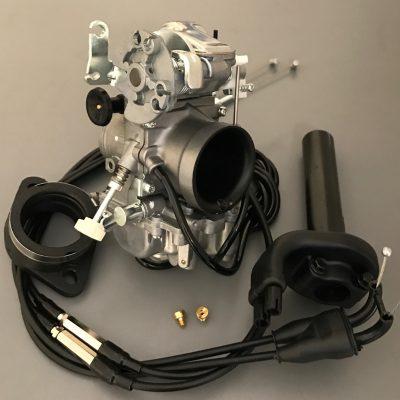 TM38 Twin Mikuni Flatslide Kit Yamaha XV Virago 750, Thru to 1100