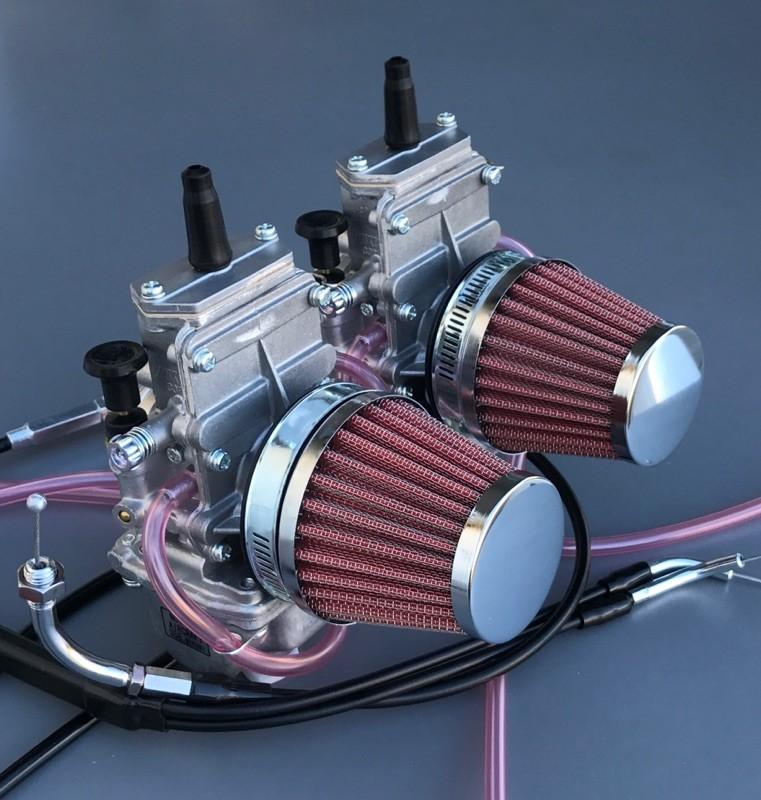 Honda CX500 Honda CX650 Mikuni TM 34 Complete Carb Conversion Kit