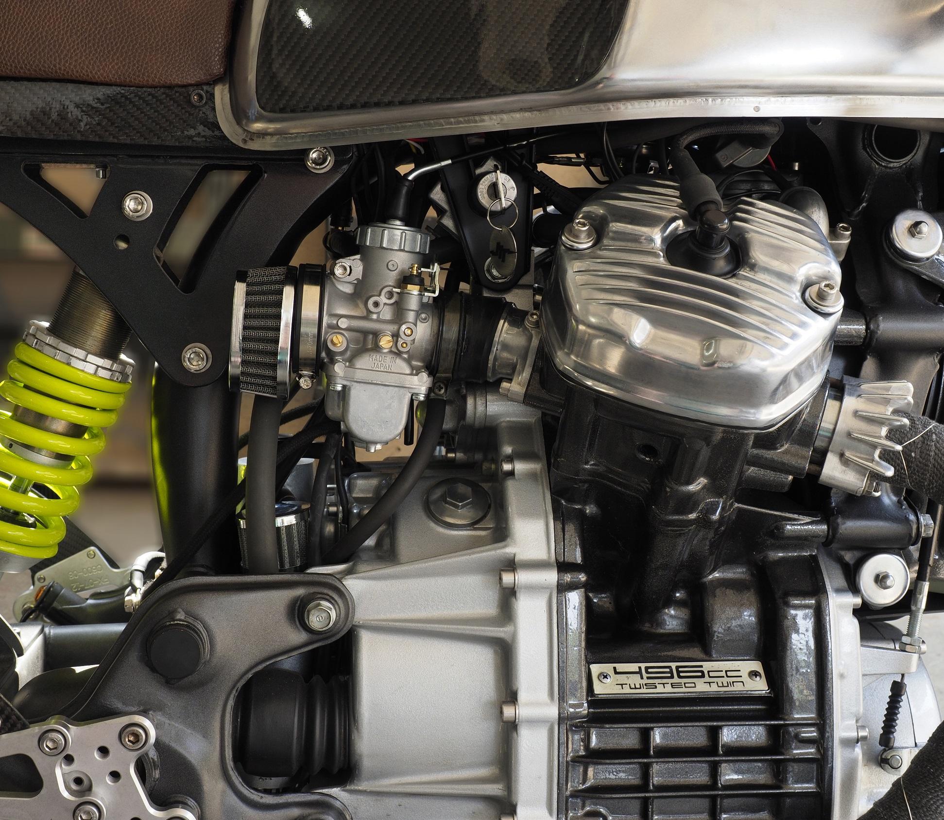 Honda CX500 Honda CX650 Mikuni VM 34 Kit w PODs or fit Std Air Box