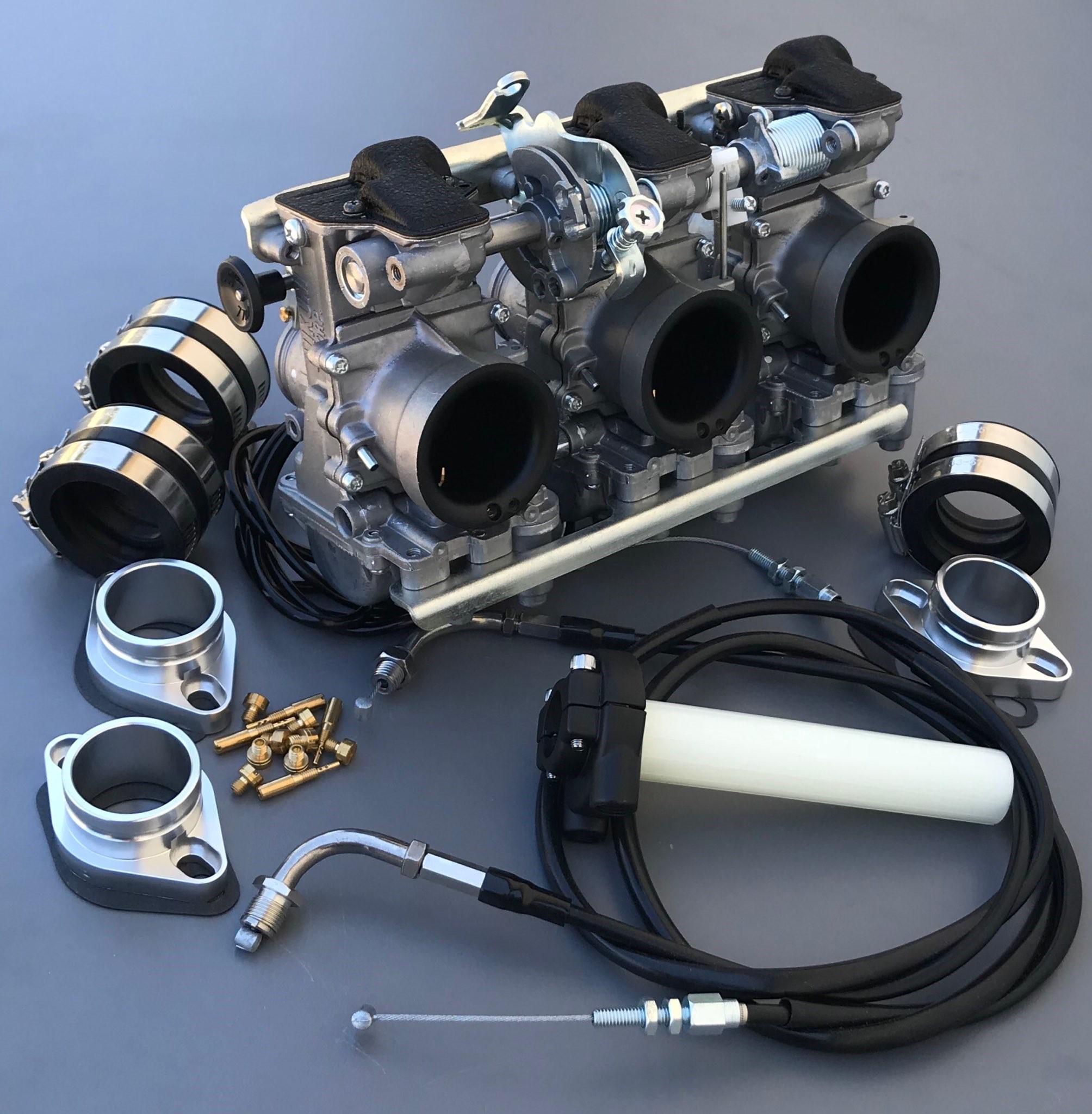 Mikuni RS 34mm Carb Kit- Triumph T150 Trident Triple